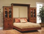 Mission Hills Murphy Wall Bed in Quartersawn White Oak