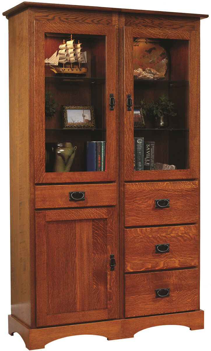 Mission Hills Narrow Bookcase