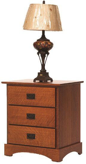 Mission Hills Solid Wood Nightstand