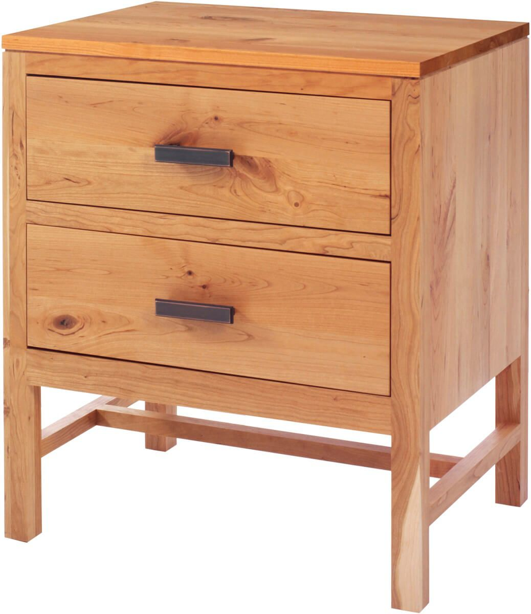 New Lebanon 2-Drawer Nightstand