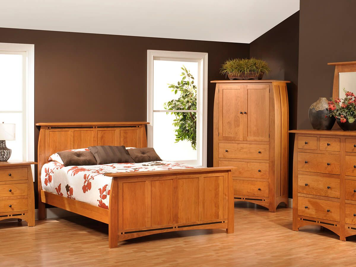 Palmina Slat Bedroom Set