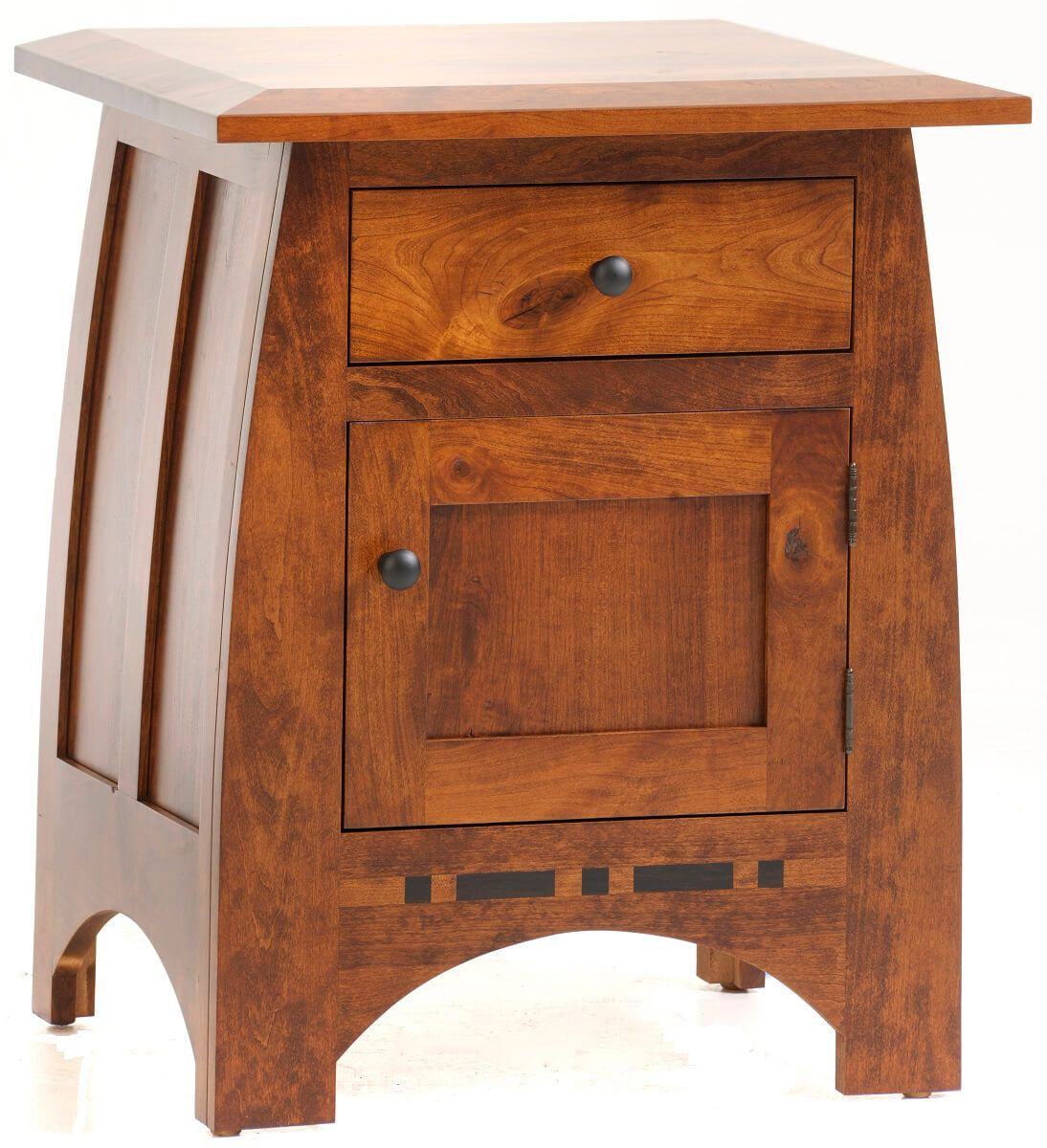 Palmina Rustic Cherry Nightstand with Door