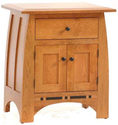 Palmina Nightstand with Storage