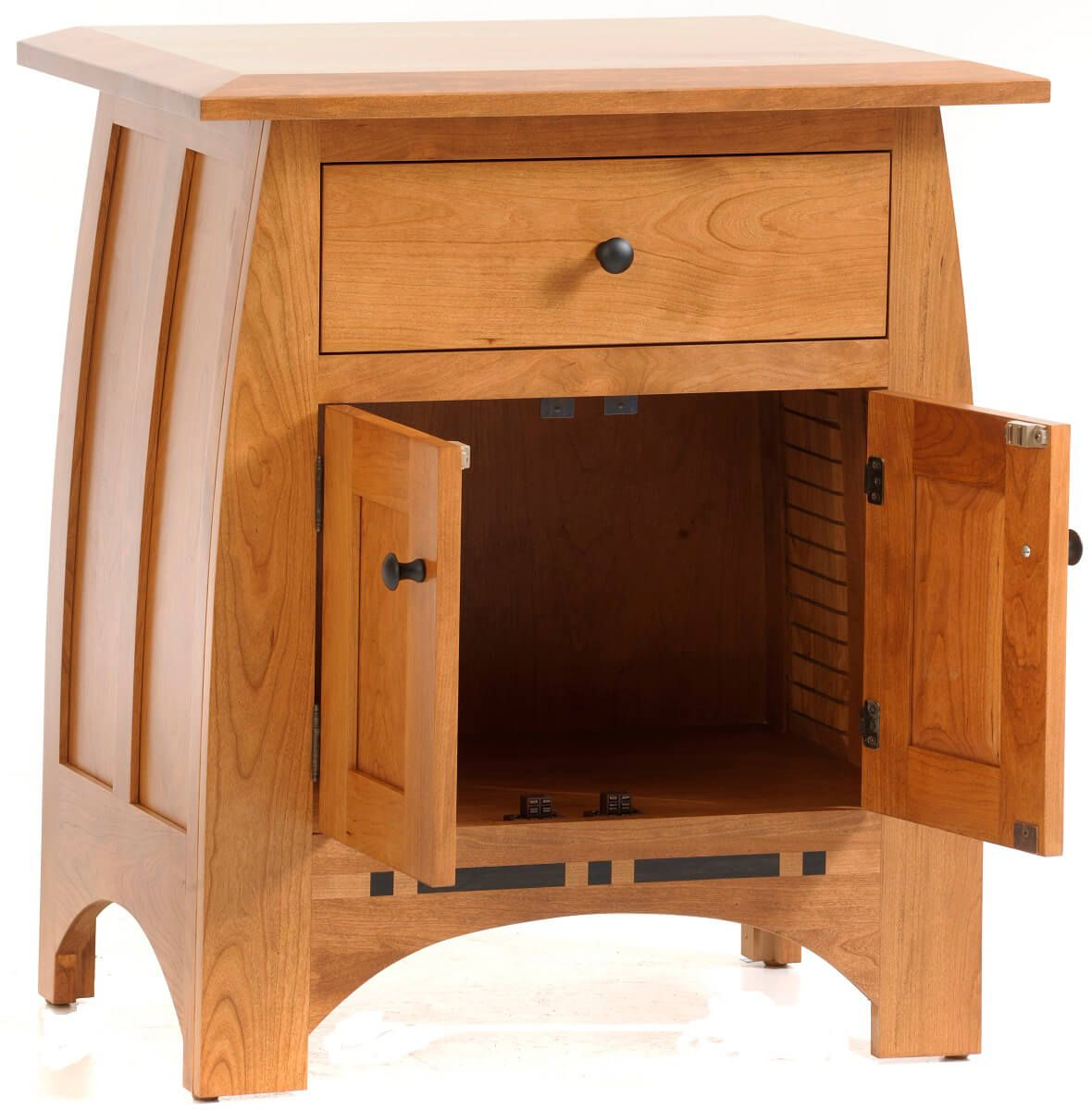 Cherry Mission Nightstand