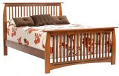 Palmina Slat Bed