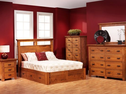 Roswell Amish Bedroom Furniture Set