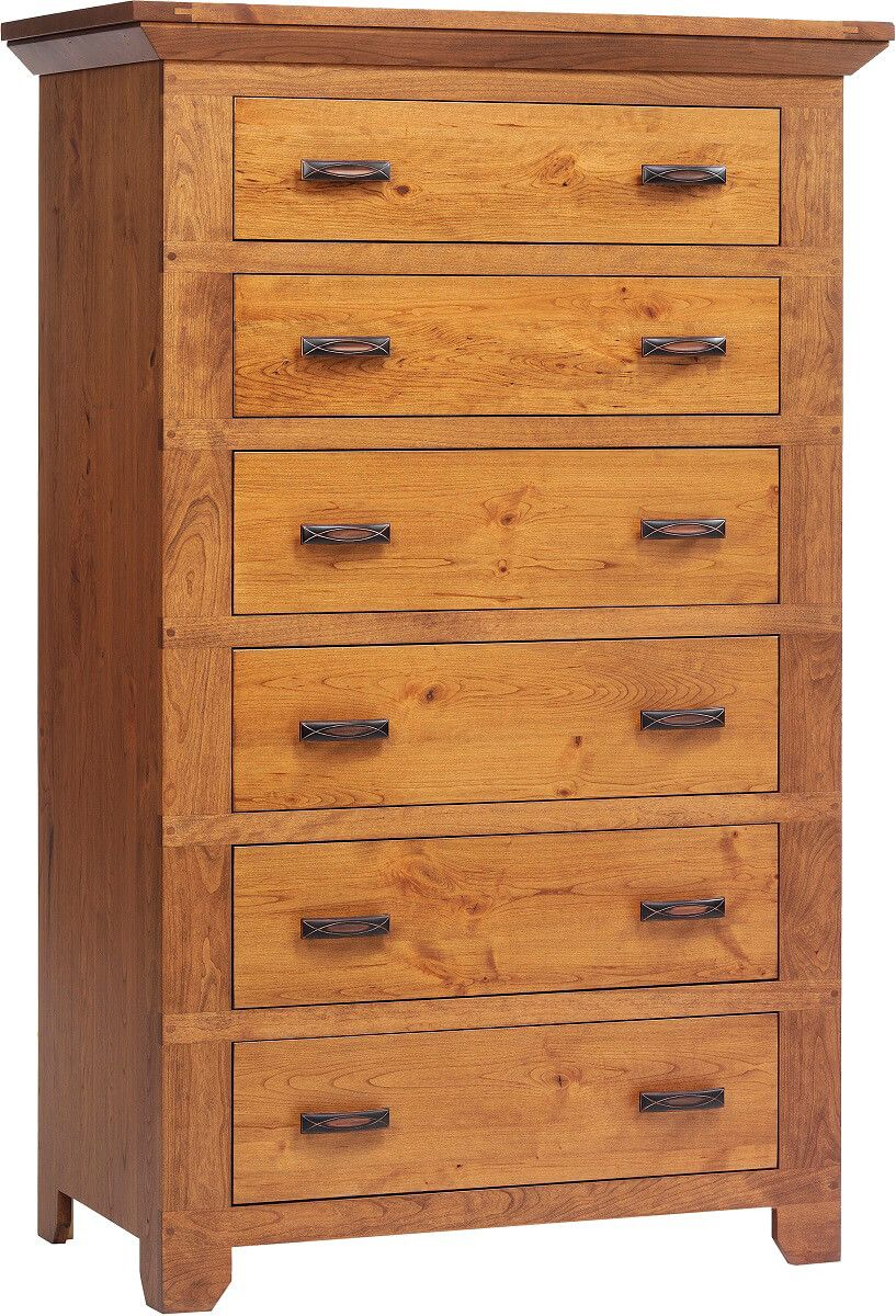 Roswell Rustic Cherry Chest of Drawers