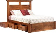 Roswell Platform Bed with Storage
