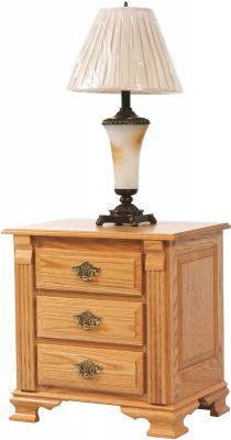 Seneca Creek Amish Nightstand in Oak