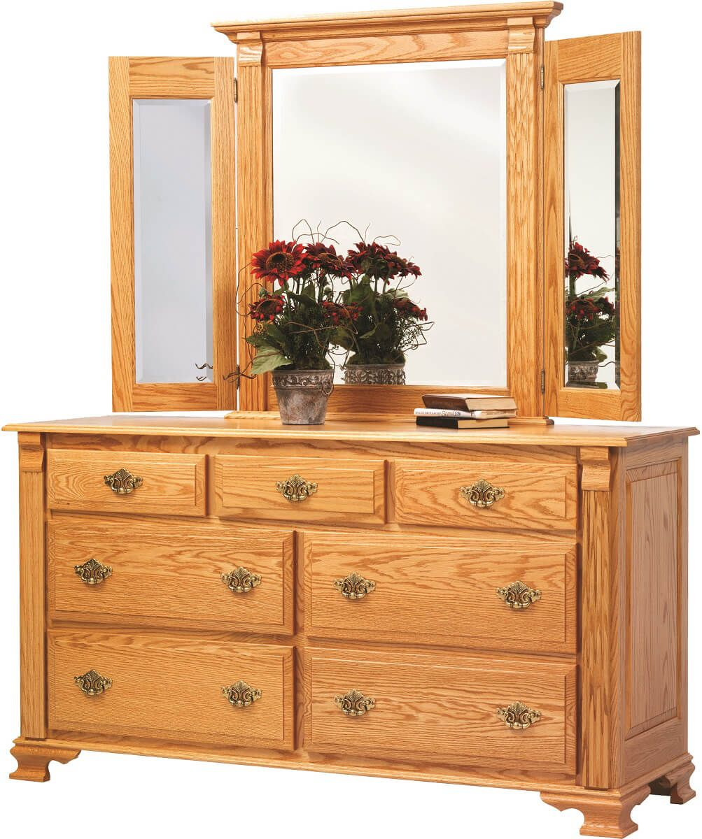 Seneca Creek 66 Inch Dresser with Mirror