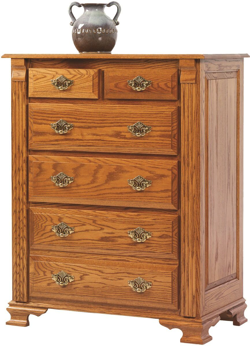 Seneca Creek Solid Wood Chest of Drawers