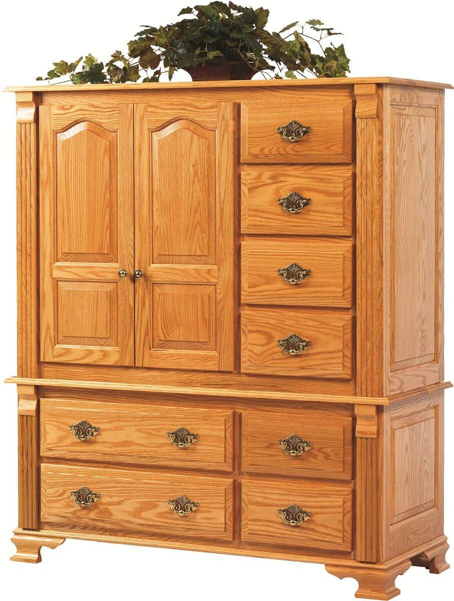 Seneca Creek Storage Cabinet in Oak