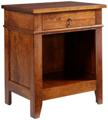 Sonoran Solid Wood Nightstand