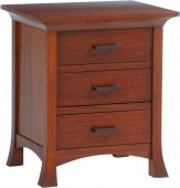 Villa 3-Drawer Nightstand