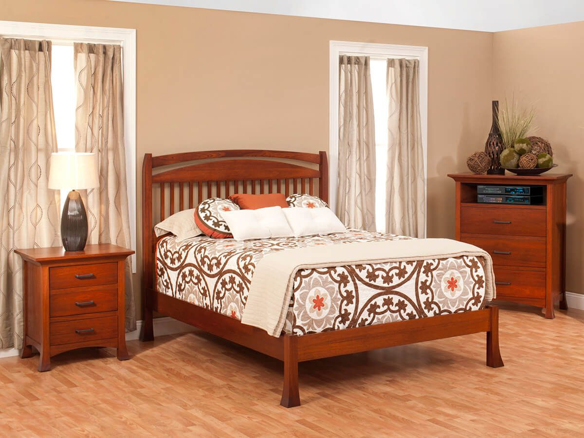 Villa Slat Bedroom Set