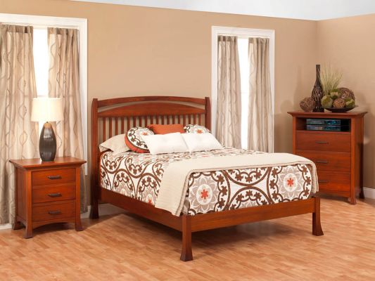 Shown with Slat Bed