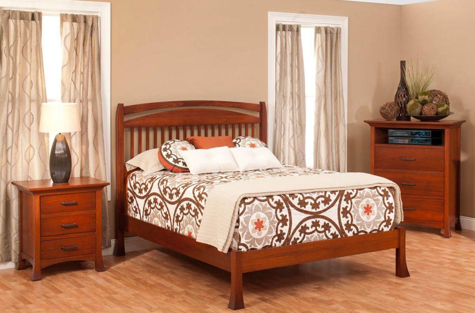 Villa Bedroom Furniture Set Countryside Amish Furniture
