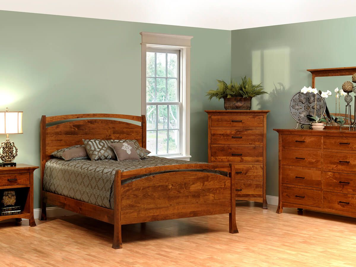 Rustic Cherry Bedroom Set