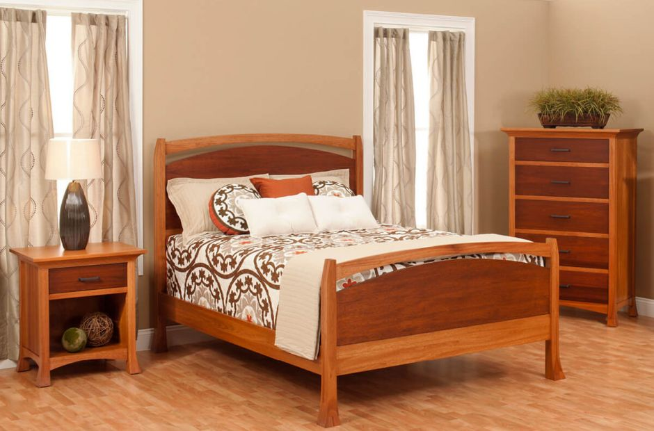 Villa Bedroom Furniture Set Countryside Amish Furniture
