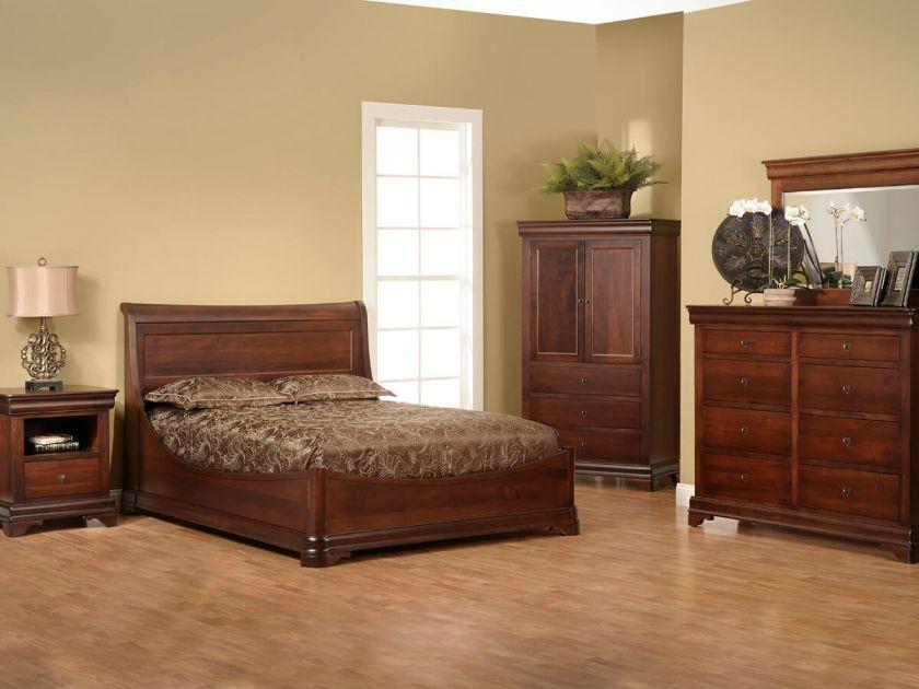 Vincennes Bedroom Furniture Set Countryside Amish Furniture