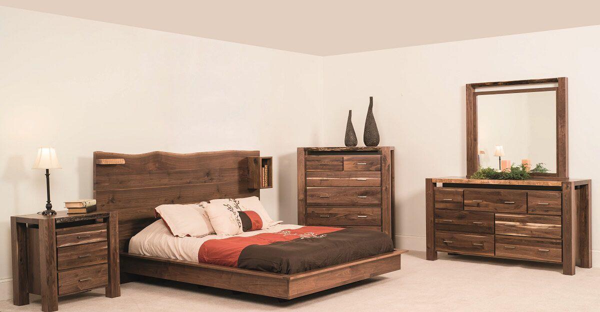 Phoenix Live Edge Bedroom Collection