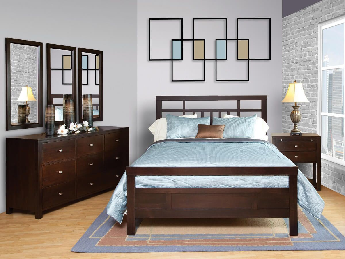 Brookville Contemporary Bedroom Set