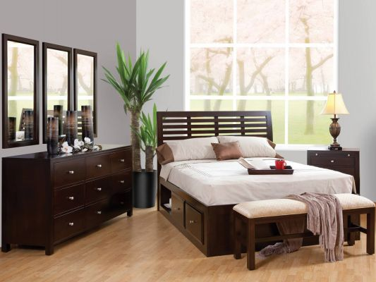 Brookville Modern Bedroom Set