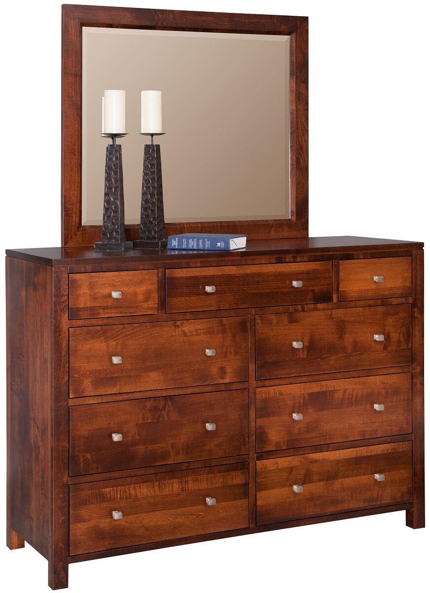 Brookville Grand Mirror Dresser