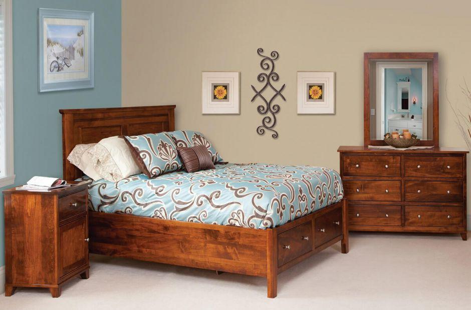Canterbury Amish Made Bedroom Set Countryside Amish Furniture