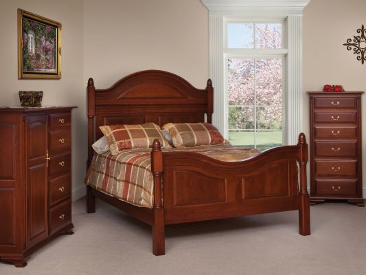 Charlotte Luxury Four Post Bed Countryside Amish Furniture