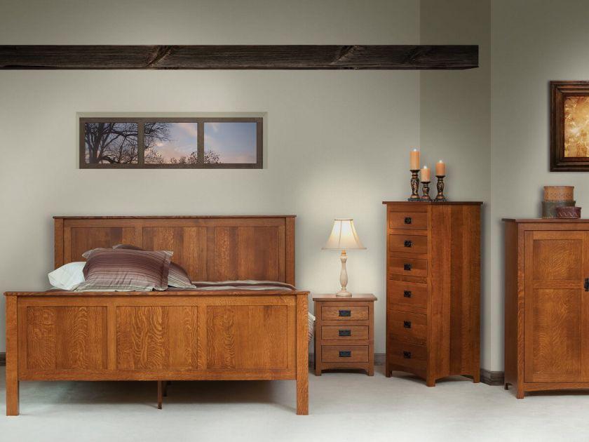 Felipe Amish Mission Bedroom Set Countryside Amish Furniture