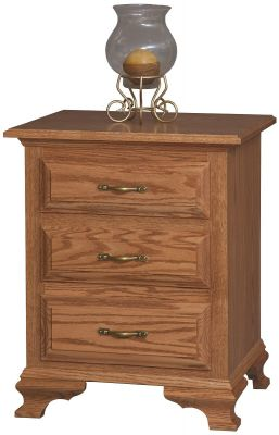 Josephine 3-Drawer Nightstand