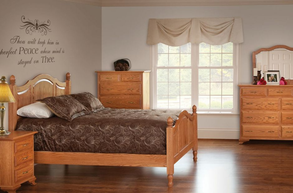 Josephine Amish Made Bedroom Set - Countryside Amish Furniture