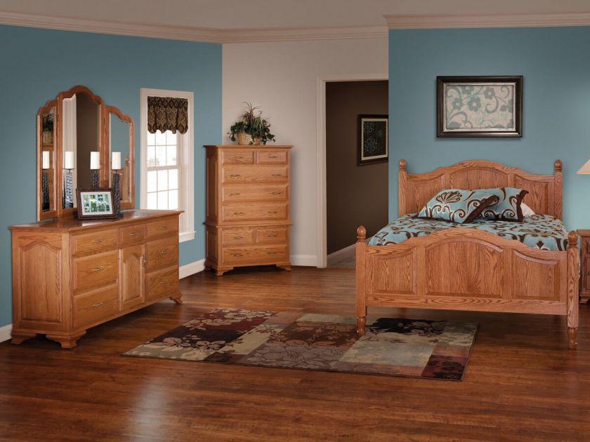 Josephine Amish Made Bedroom Set Countryside Amish Furniture