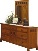 Mission Canyon Dresser with Mirror