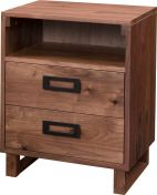 Muncie 2-Drawer Bedside Table