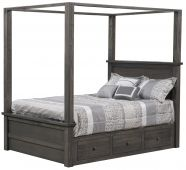 Wyndham Panel Canopy Bed