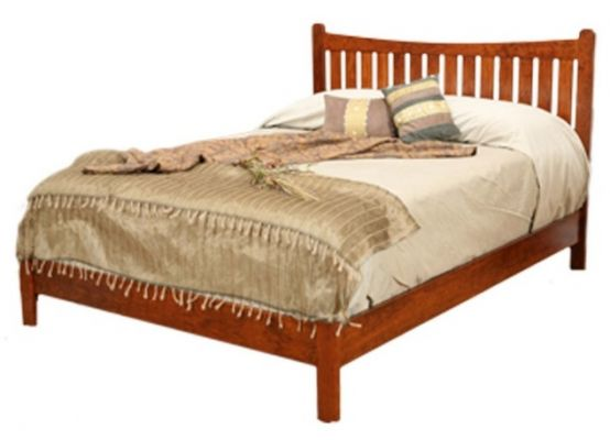 Wyndham Slat Bed with Low Footboard