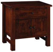 Wyndham Nightstand with Doors