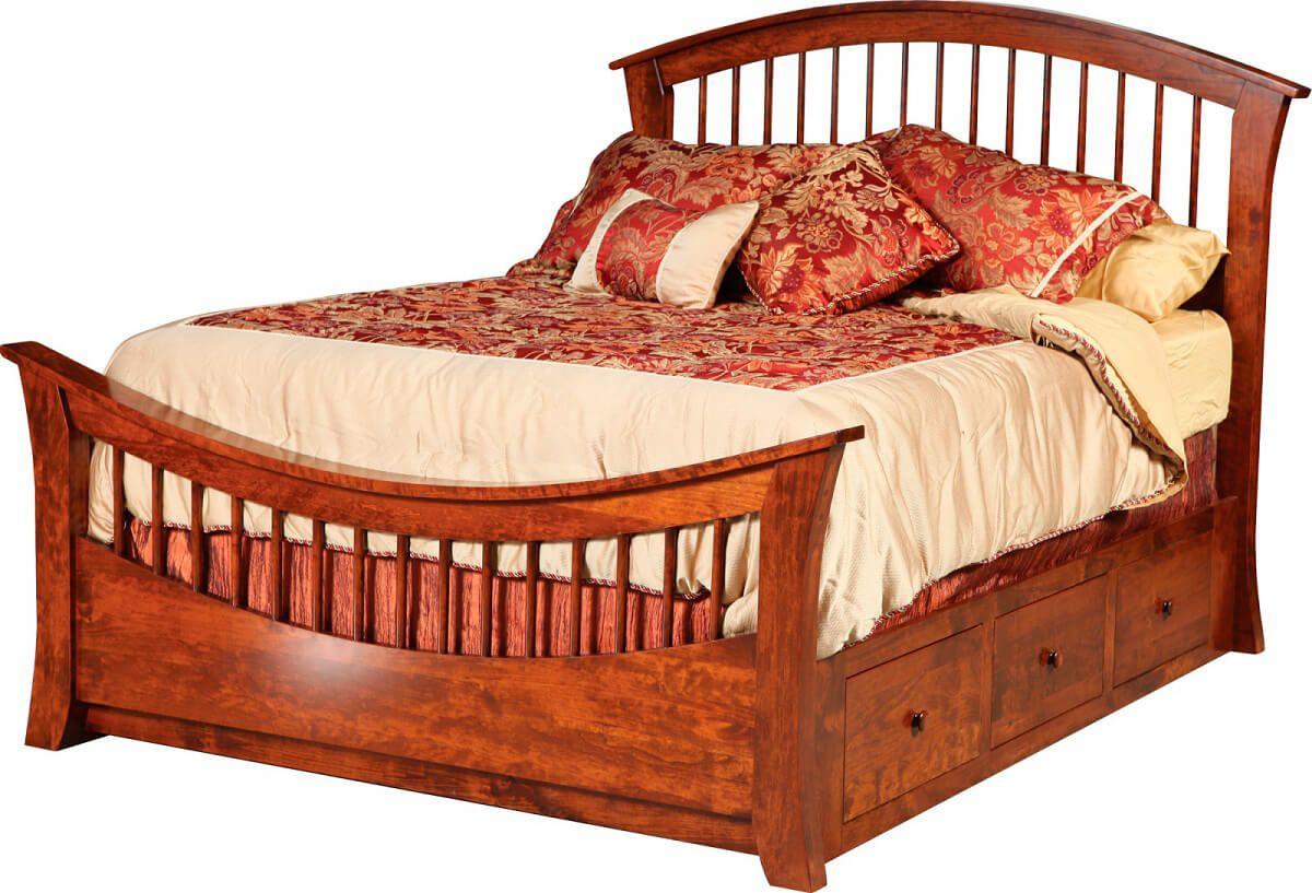 Wyndham Slat Storage Bed