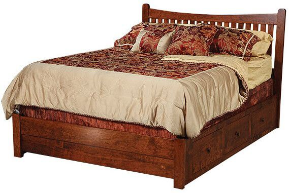 Wyndham Storage Bed with Low Footboard