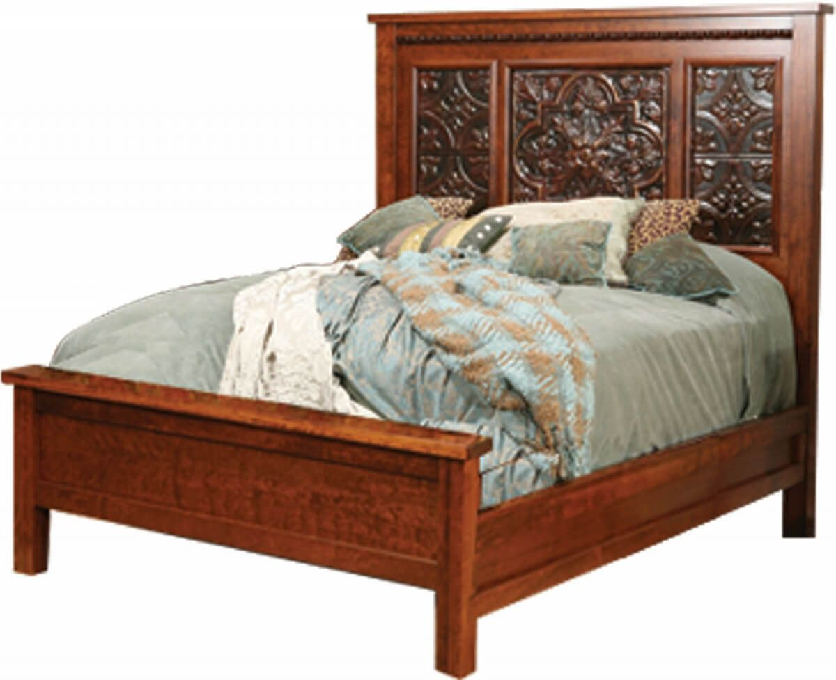 Wyndham Tin-Paneled Bed