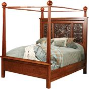 Wyndham Tin-Paneled Canopy Bed