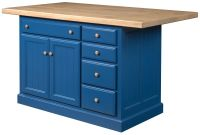 Dermott 5-Drawer Kitchen Island
