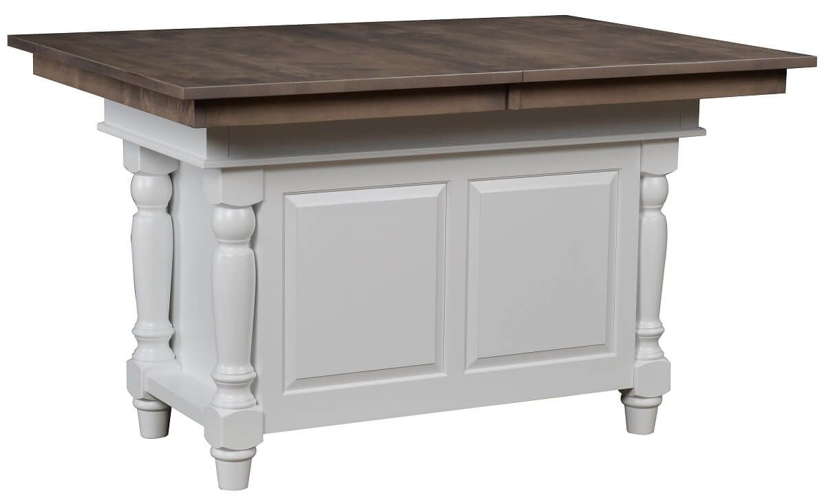 Kitchen Island with Leaves