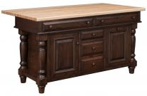 Gurdon Kitchen Island