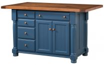 Lavaca 5-Drawer Island