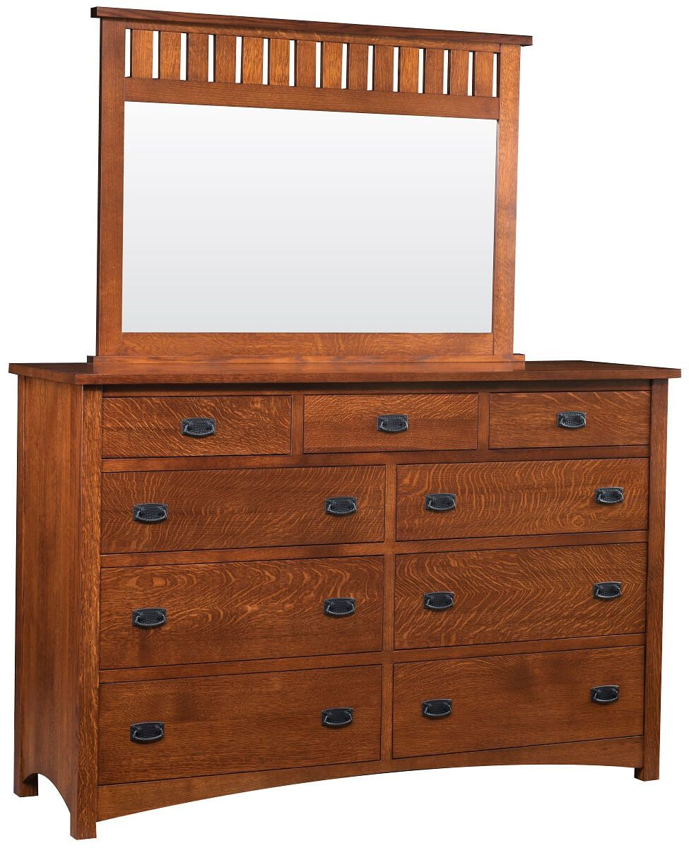 Muskogee 9-Drawer Dresser