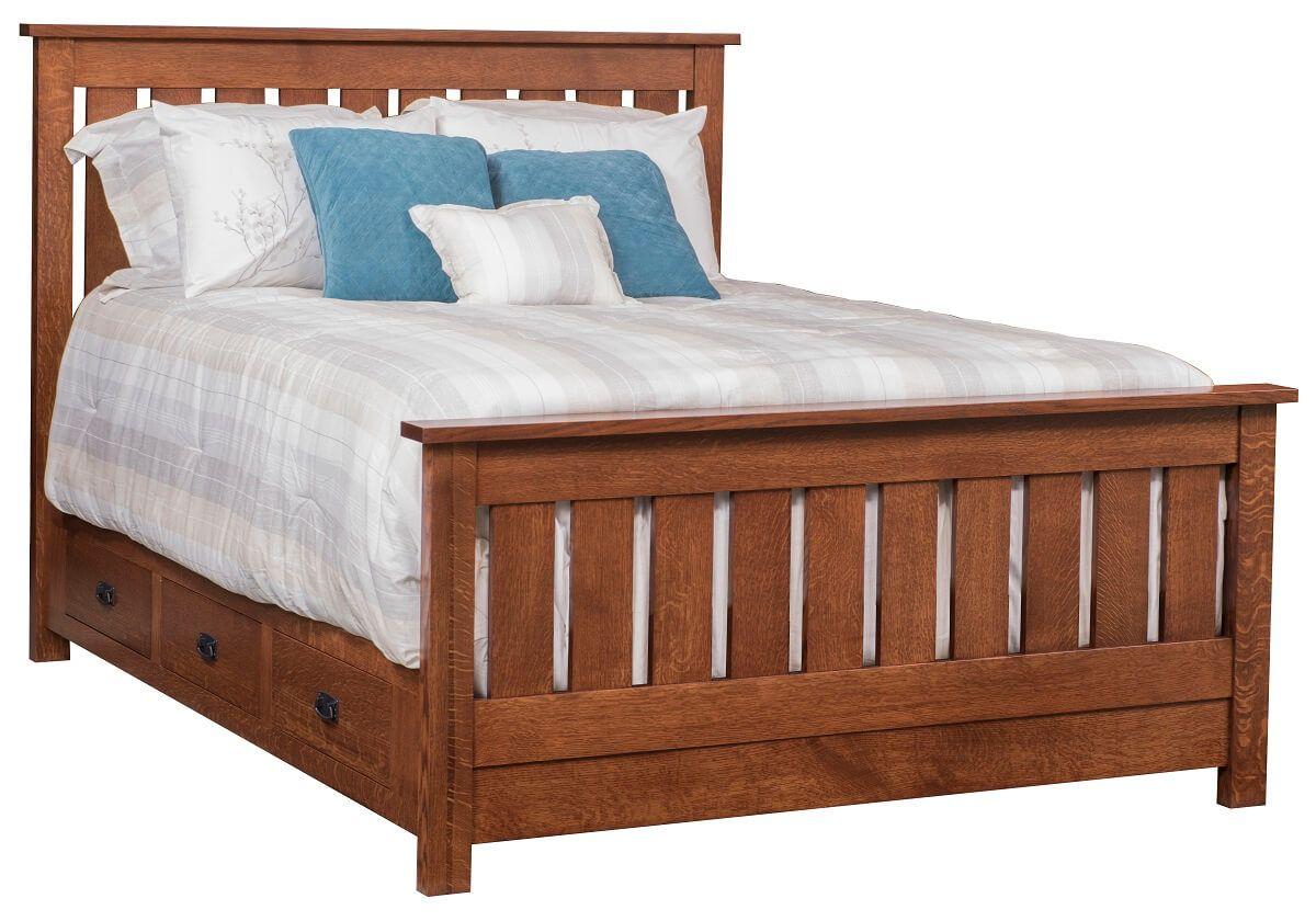 Muskogee Storage Bed