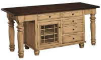 Pistakee Bay Kitchen Island